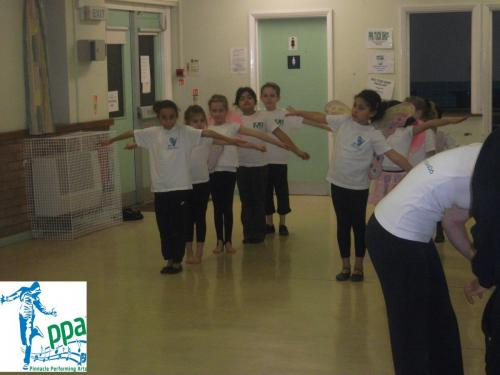 Structured dance classes
