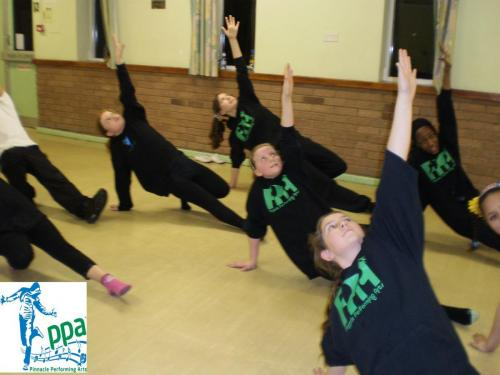 Teen structured dance training